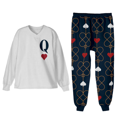 XS / Queen of Hearts Pajamas Queen of Hearts Matching Family Pajamas - Tony by Toni