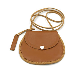 Personalised leather bag - Tan
