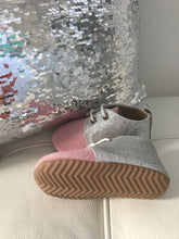 Load image into Gallery viewer, Dusty pink sparkle shoes