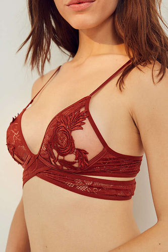 Wrap Applique Bralette