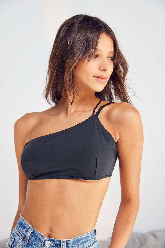 Devin Asymmetrical One Shoulder Bra