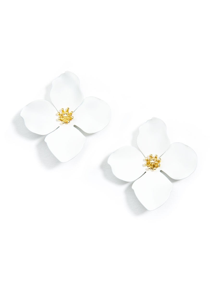 Camellia Earrings