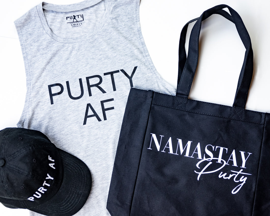 NamaStay Purty Canvas Tote