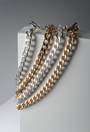 Gold and Silver Chain Chokers