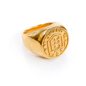 James Engraved Ring
