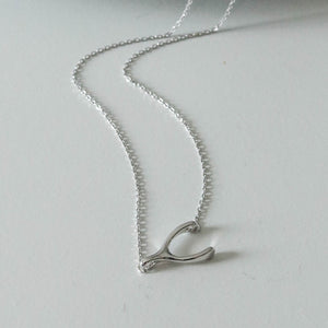 Kay Wishbone Necklace