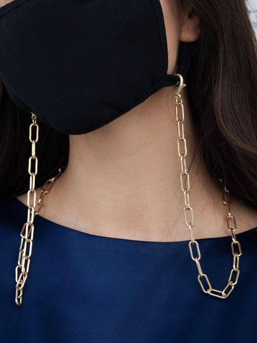 Matte Link Mask Chain