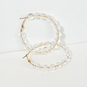 Sparkle Hoop Earrings