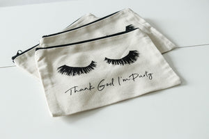 Thank God I'm Purty Makeup Bag