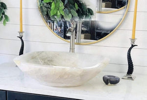 Quartz Crystal Sinks