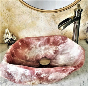 Rose Quartz Sinks