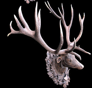 Red Stag Antler Mounts