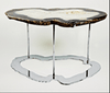 "Agate Coffee Table #217-A { 34 x 24 x 18"" tall }"