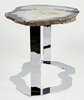 Agate Side Table #227-A { 29 x 23 x 22 tall }