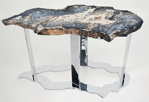 Blue Ocean Jasper Side Table
