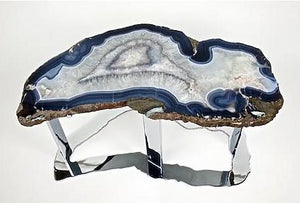 Large Agate Coffee Table #224B (Inquire For Information Please!)