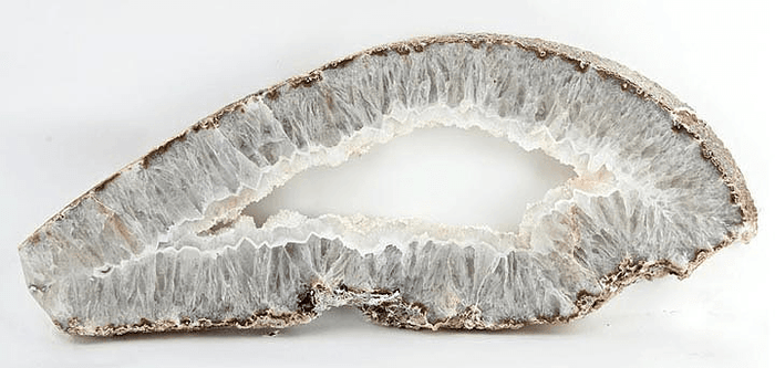 "Geode Slab #320 (33"" x 13"" x 1 3/4"") {Contact For Price}"
