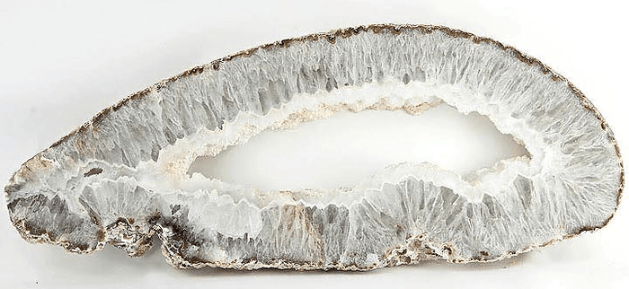 "Geode Slab #322 {33 1/2"" x 13 1/2"" x 2"" thick } (Inquire for Pricing Please)"
