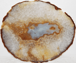 Giant Agate Slice #203-EH