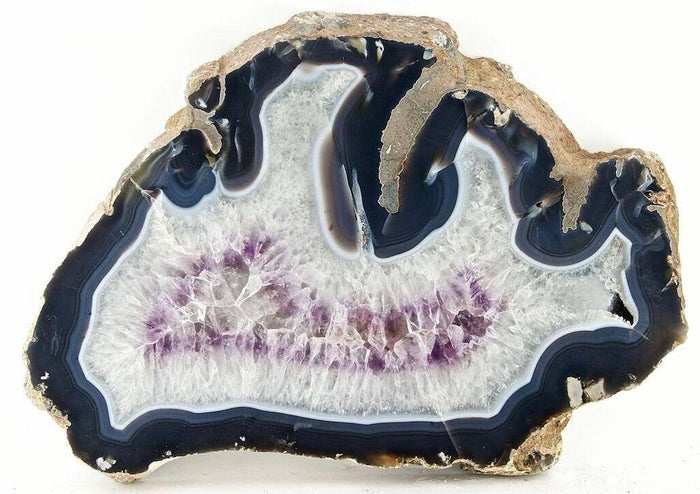 "Giant Amethyst Slab #342 { 24 1/2"" x 17"" x 1 3/4"" thick}  (Inquire for Pricing Please)"