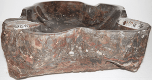Grande Fossil Marble Sink #155-EH