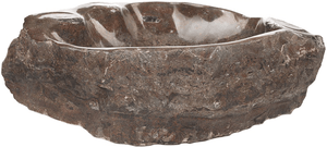 Grande Fossil Marble Sink #176-EH