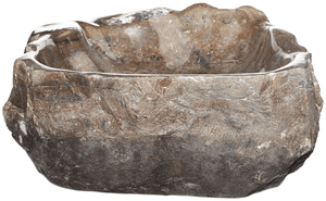 Grande Fossil Marble Sink #177-EH (23.5