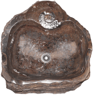 Grande Fossil Marble Sink #182-EH