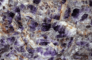 Amethyst Gemstone Slab #3