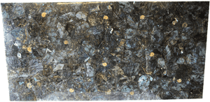 "Labradorite Gemstone Slab #1 [72"" x 42"" x 1""] {Contact For Price}"