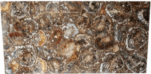 "Mosaic Petrified Wood Slab #2  [72"" x 42"" x 1""] {Contact for Price}"