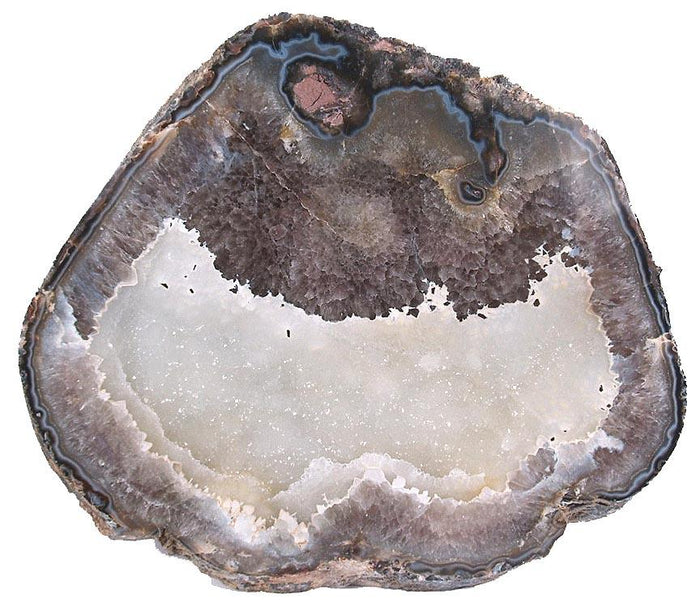 "Giant Agate Geode Slab #274 x 200/lbs (35"" x 31"" x 3"" thick) {Inquire For Price}"