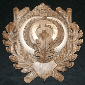 CP-101B Wild Boar Tusk Panel {last 2 available, then discontinued!}