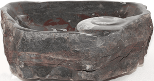 Grande Fossil Marble Sink #158-EH