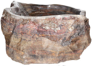 Natural Stone Sink from Fossil Agate #200-EH