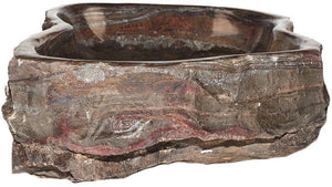 Natural Stone Sink from Fossil Agate #205-EH