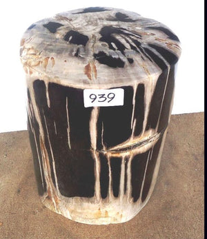 Petrified Wood Side Table #939-EH