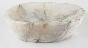 Quartz Crystal Gemstone Sink #02