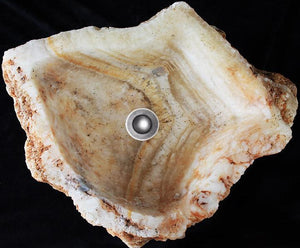 "Quartz Geode Crystal Sink #16 (17"" x 14"" x 6 1/2"" tall"") Spectacular Crystals {FREE SHIPPING}"