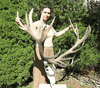 MONSTER  Symetrical Red Stag Trophy #121 20 Points {FREE SHIPPING!}