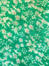 Green designer long scarf