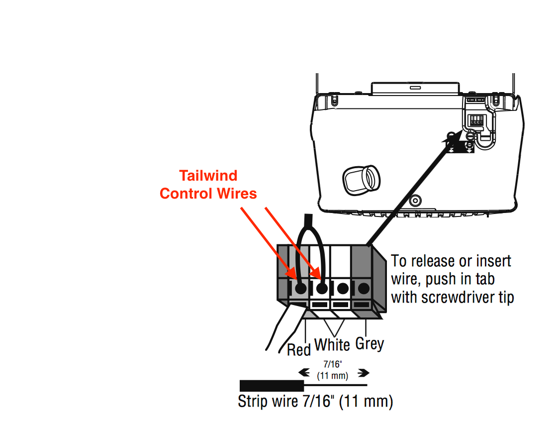 Installation Go Tailwind Garage Door Safety Sensor Wiring Diagram Download Page Liftmaster 3130m 3240m