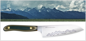 New West KnifeWorks Blends the Beauty of the Teton Mountain Range with Their High Performance Chef Knives