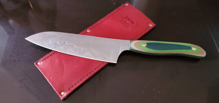New West KnifeWorks Teton Edge Santoku in Sherwood