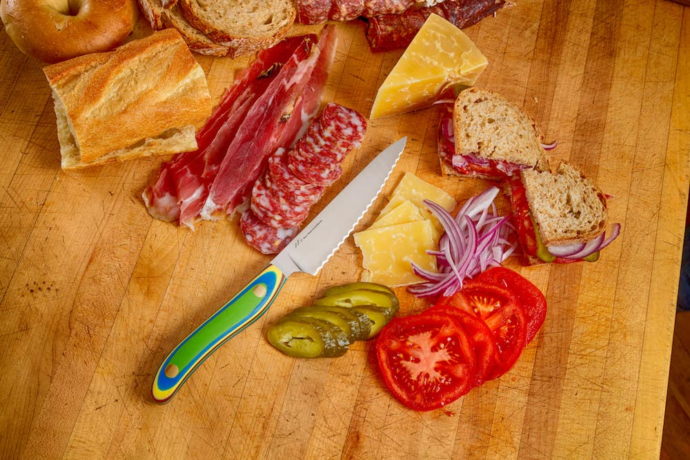 Deli Knife for cheese, meats, tomatoes