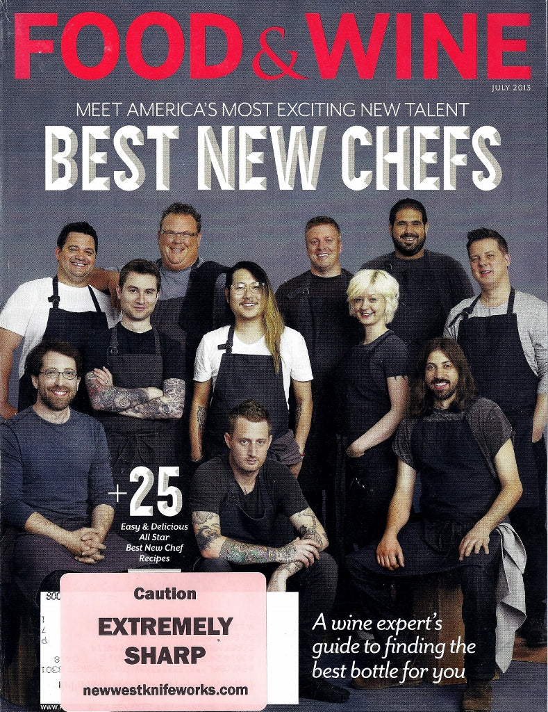 Food&Wine July2013 Cover