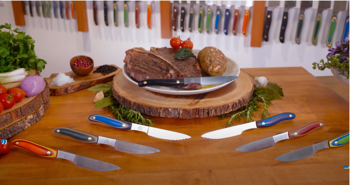 New West KnifeWorks Steak Knives