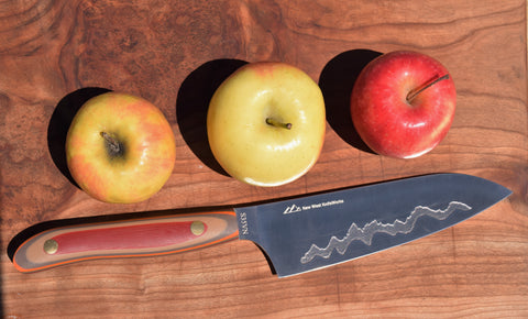 New West Knifeworks Teton Edge Santoku Knife