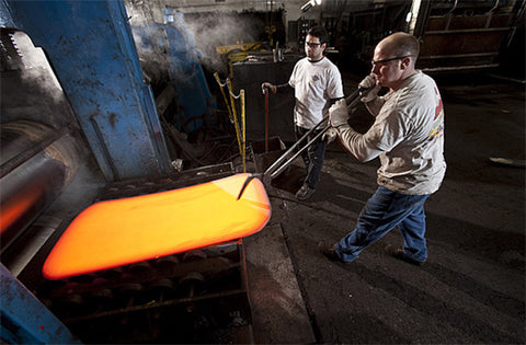Hot Rolling at Niagra Steel