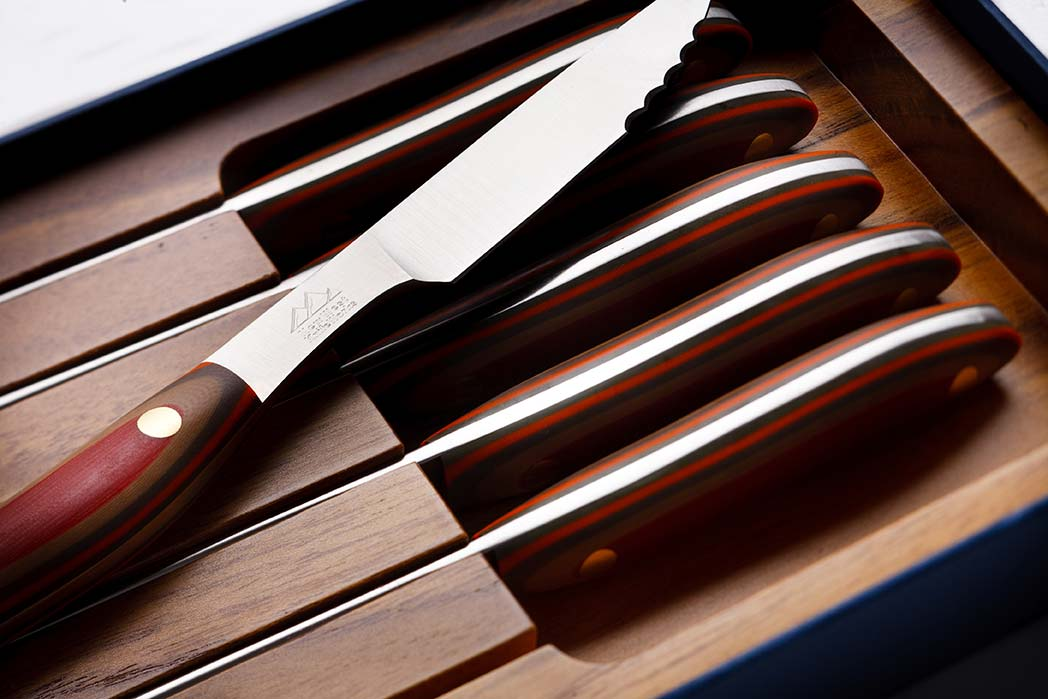 Beautiful steak knives